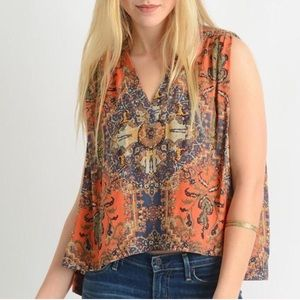 Free People Darcy Blouse Large